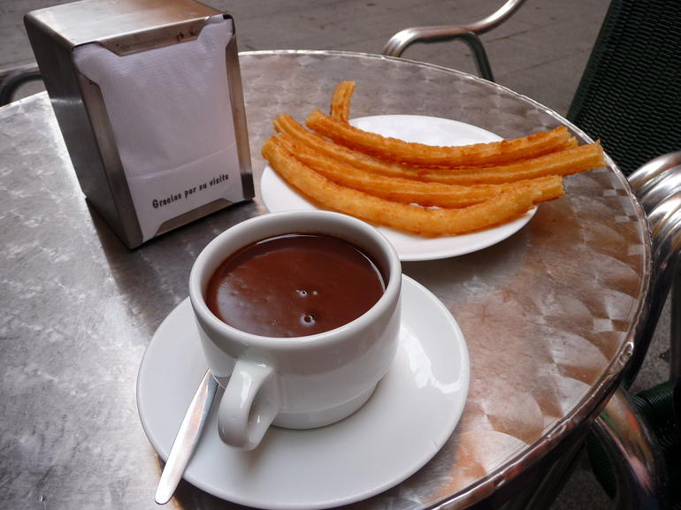 Chocolate y churros -