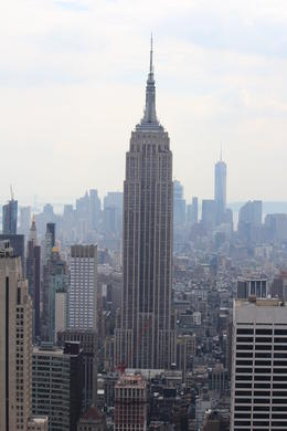 View of the Empire State Building from the Top of The Rock , Alexander W - September 2016