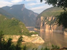 This is the view as captured on the back of the 10 yuan note! One of the most breathtaking views of the trip! , Emel S - August 2015