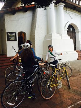 Learning about the original Mission, Mission Dolores - December 2014
