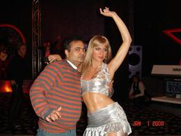 With this lady., Sumit B - January 2008