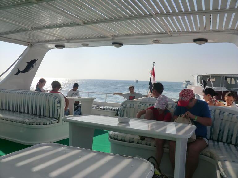 Little Ceasar - on deck - Hurghada