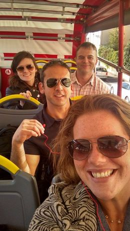 Our group on the hop-on hop-off in Florence. LOVED IT! , Heather M - October 2015