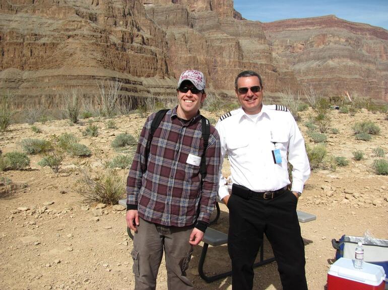 Me & Fred the pilot - Las Vegas