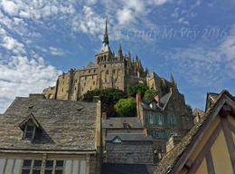 Mont St-Michel , Cindy M - September 2016