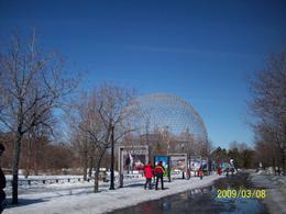 Science sphere in Sta. Helene island - March 2009
