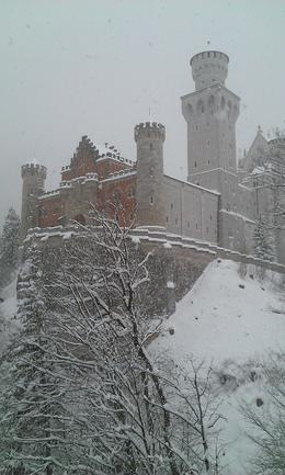 A snowy picture of the castle. , David S - January 2015
