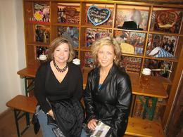 Erin and Jen at the Oktoberfest Museum., Lee E - November 2008