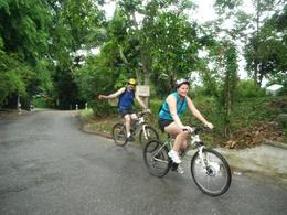 Paved roads made the cycle easier - June 2012