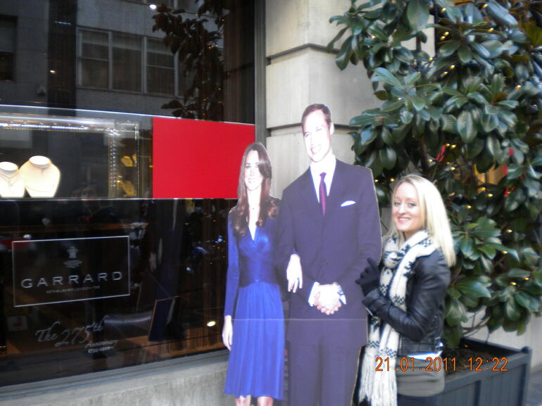 Prince William and Kate: The Royal Wedding Walking Tour - London