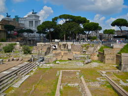 The ruins of the Roman Forum , JEFFREY P - April 2012