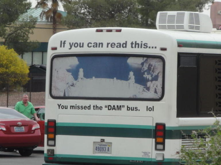 The Dam Bus (lol) - Las Vegas