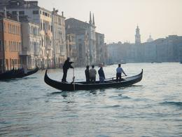 Gondola on the Grand Canal, Krishnan Vaitheeswaran - October 2008