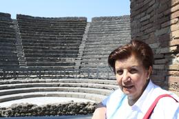 Margaret in the Arena in Pompei , Alan - May 2011