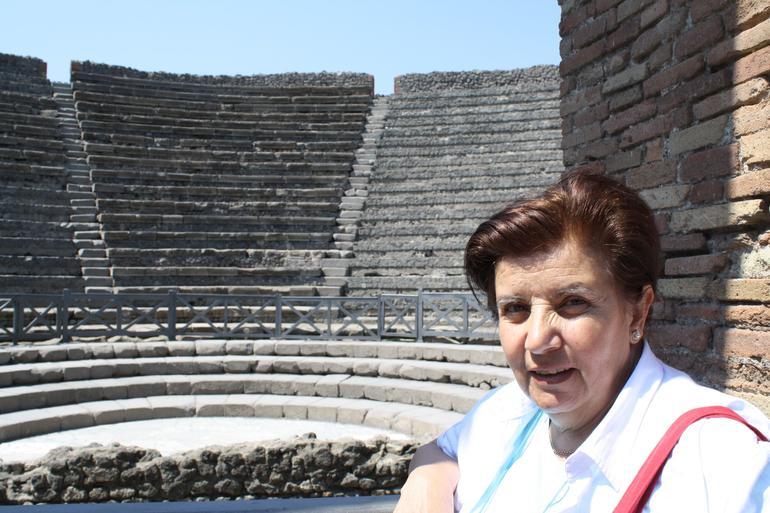 Viator tour Pompei - Rome