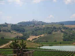 San Gimignano located on the next hill. , Nilanjan S - September 2015