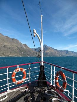 The TSS Earnslaw - May 2010