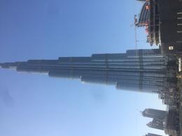 Burj Khalifa from the groud , Joanna K - February 2017