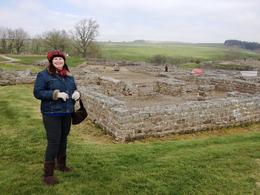 At the archaeological excavation site of Roman Vindolanda , SunKing1665 - May 2017