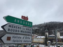 A nice visit and lunch in the ski town of Ax-Les-Thermes , JEFF M - January 2018