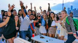 Party on the Boat ESCAPE TO. Luxury Yacht , Private Yacht- ESCAPE TO. - April 2017