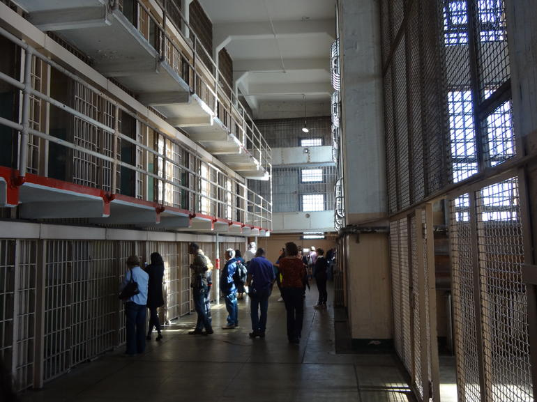 Alcatraz Cell Block - San Francisco