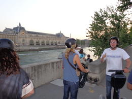 Stopped across from the Musee D'Orsay , dizzledorf - August 2012