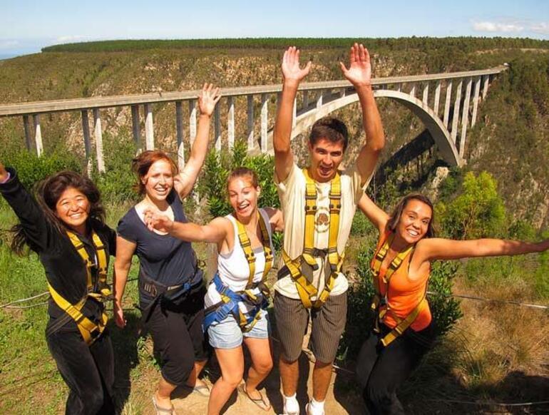 Bridge Bungee Jump - Cape Town