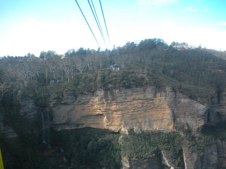 Cable car across the Blue Mountains - Sydney