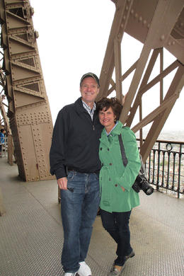 Fun hearing the history, legends, and lore of the amazing Eiffel Tower! , Kristin C - May 2013