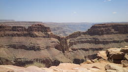 View of Eagle's Point from the Grand Canyon West Rim , Shirley T - June 2014