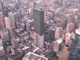 Seen from the 86th floor observatory! - February 2012