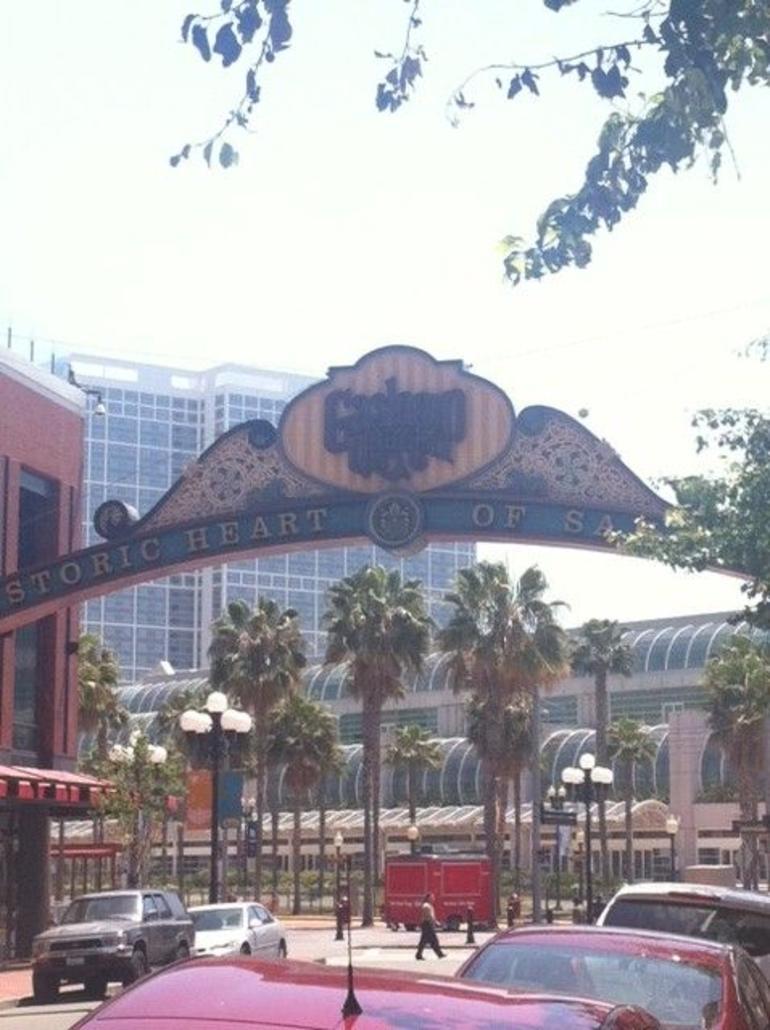 Gaslamp Sign - San Diego