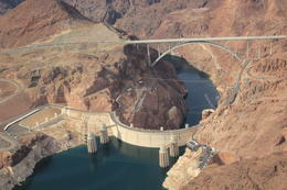 Flying over the Hoover Dam , John G - September 2013