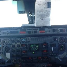 In the cockpit with the Pilots , Vicky - October 2014