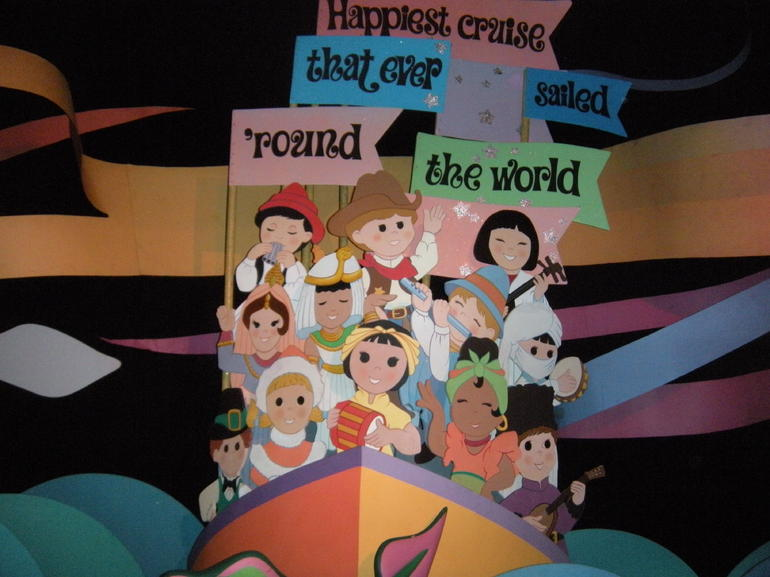 Inside Its a Small World - Las Vegas