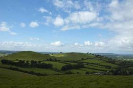 View from Loughcrew Passage Tombs , Brenda - August 2016