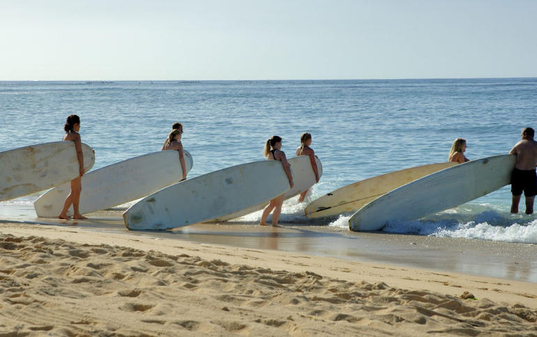 Learn to surf, Oahu - Oahu