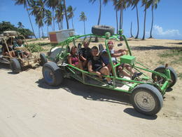 Ready to hit the bush from Macao Beach. , Gary F - August 2014
