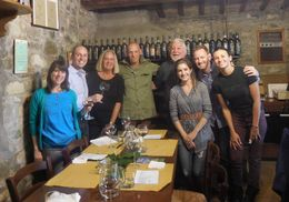 Lunch at the winery , Sleek - October 2015