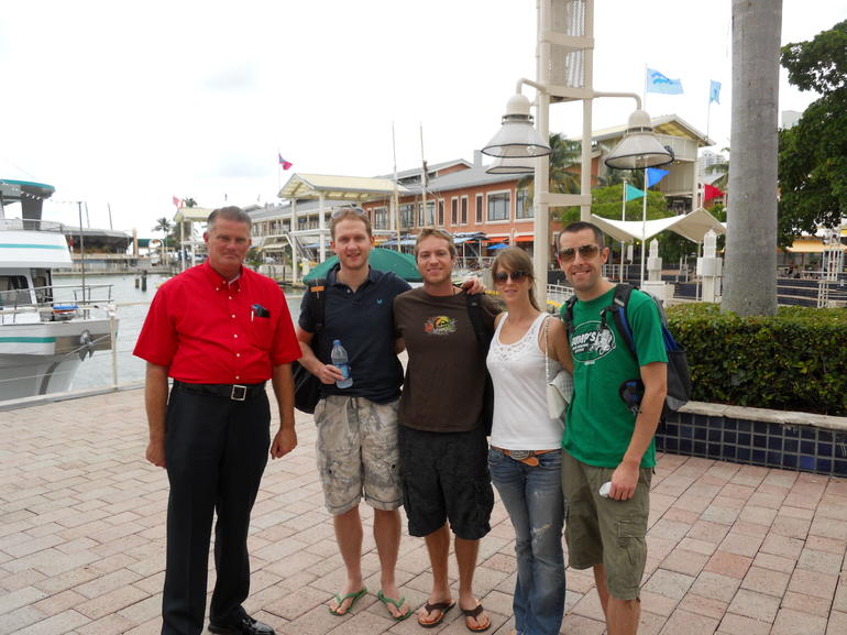 Meeting our guide - Miami