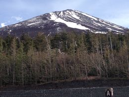 The summit of mount Fuji from the 5th station , John T - May 2015