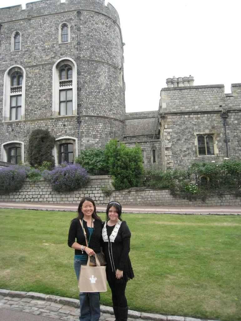 My daughter and I at Windsor Castle - London