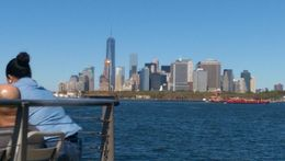 Manhattan view from the boat cruise - 1 Trade Centre in background , Oyindamola J - September 2015