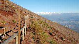 very nice views of Naples and Pompeii in the valley , chrisn - December 2015