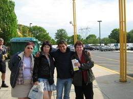 One of the tour guides with my friend, my sister and myself, Pauline D - May 2009