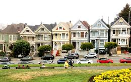 Detour to Alamo Square to see the beautiful (Full House intro) Painted Ladies , ncuenca2 - July 2013
