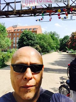 Biking on the old rail bridge turned into a park was very cool! , Ricardo L - May 2015