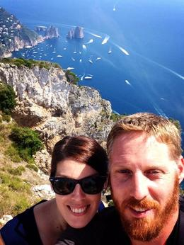 We took the Chairlift to the top of the mountain in Ana Capri, wonderful view!!! , Danielle v - September 2014