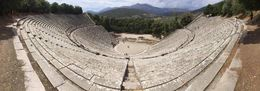 Ancient theater of Epidaurus in Greece , Bernabe R - June 2016